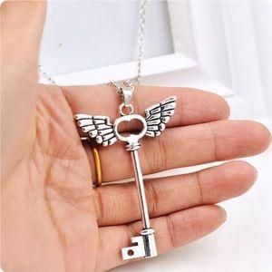 Jewelry - Wings/Key Necklace
